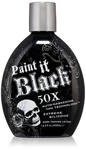 Millenium Tanning New Paint It Black Auto-darkening Dark Tanning Lotion, 50X, 13.5 Ounce
