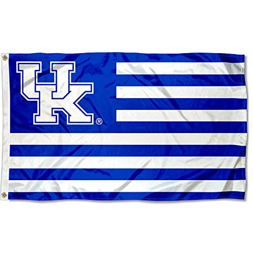 Kentucky Wildcats Stars and Stripes Nation Flag