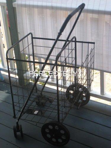 587f3cd8a5b7 833558009962 UPC - Gna Heavy Duty Aluminum Shopping Trolley, Grey ...