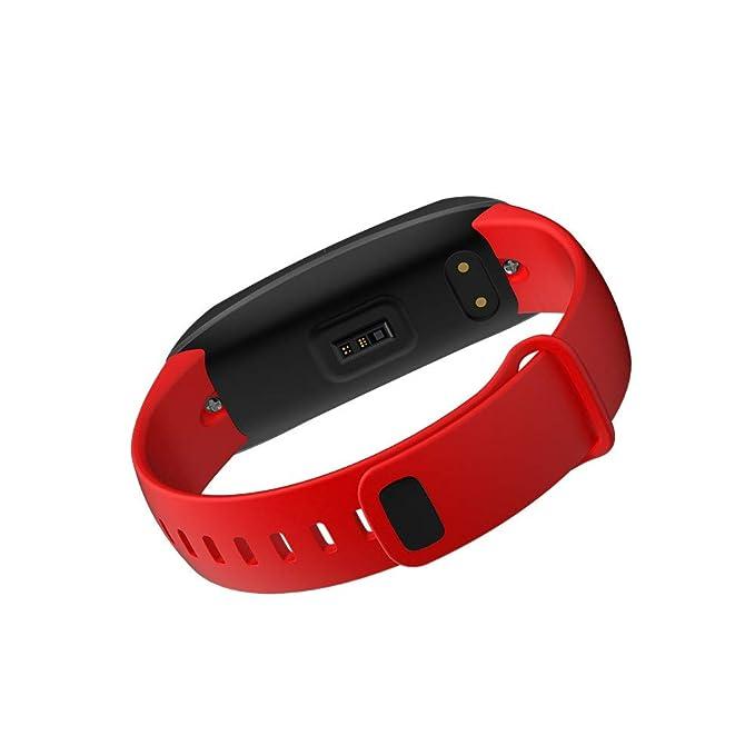 Star_wuvi 0.96 Pulgadas OLED Smart Bracelet Watch Heart Rate ...