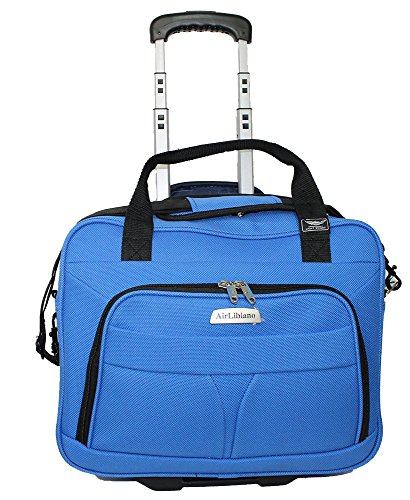 - Airlibiano Rolling  Personal Item laptop case Airlines Frontier & Spirit Airlines