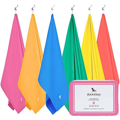 "Microfiber Towel - Active & Yoga (Pink - Extra Large 78x35"")"