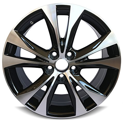 Rav4 Alloy Wheels -   Road Ready Car Wheel For 2013-2015 Toyota Rav4 18 Inch 5 Lug Gray Aluminum Rim Fits R18 Tire - Exact OEM Replacement - Full-Size Spar