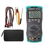 Rockrok Digital Multimeter Meter Amp/Ohm/Volt Tester with Backlight LCD Display Tool New