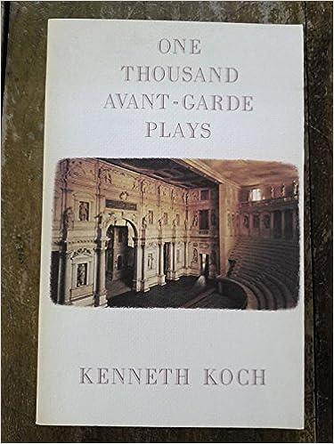Book One Thousand Avant-Garde Plays by Kenneth Koch (1988-05-12)