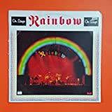 RAINBOW On Stage OY 2 1801 Sterling GC Dbl LP Vinyl VG+ Cover VG GF Sleeve