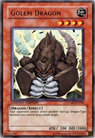 Yu-Gi-Oh! - Golem Dragon (JUMP-EN040) - Shonen Jump Magazine Promos - Promo Edition - Ultra Rare