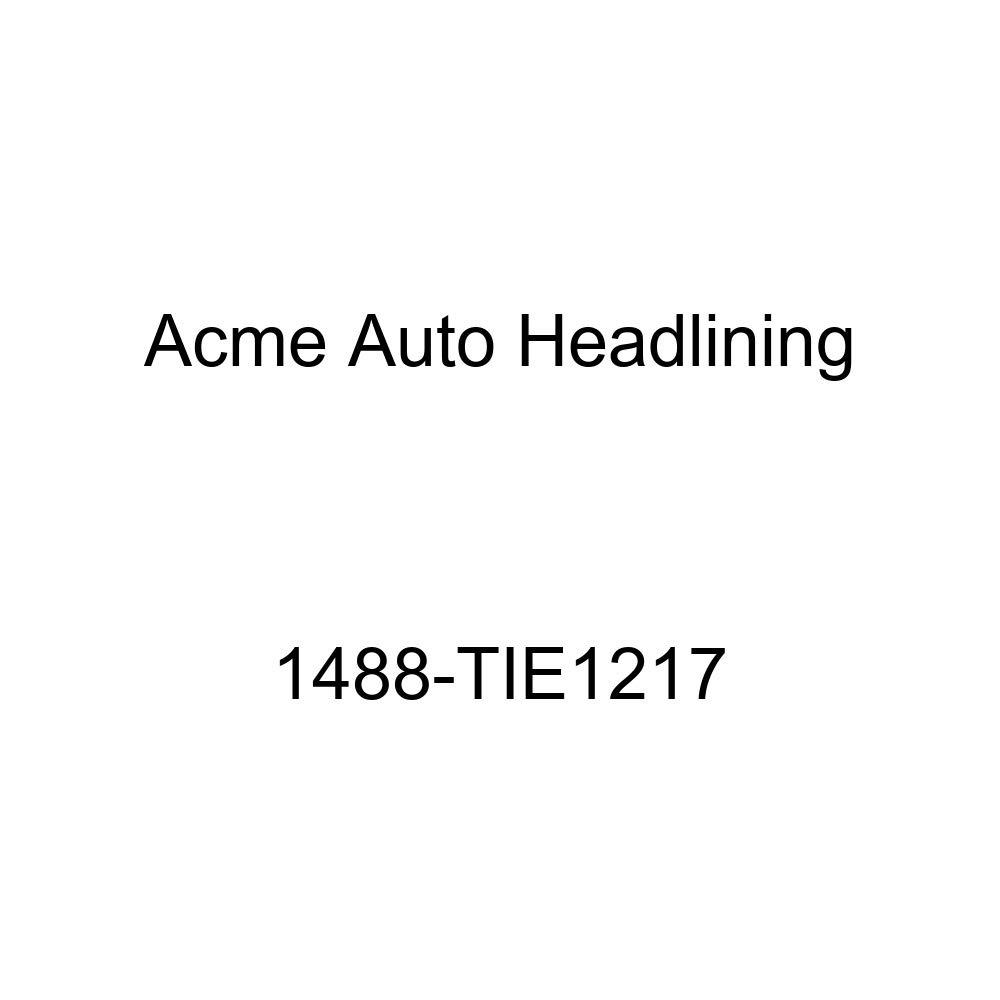 Acme Auto Headlining 1488-TIE1217 Ginger Replacement Headliner 1959 Chevrolet Impala 2 Door Hardtop 4 Bows