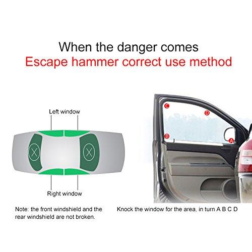 JXHD Car steering wheel lock Car truck universal Car adjustable baseball type anti-theft lock Self-defense manual tool Multi-color optional by JXHD (Image #7)