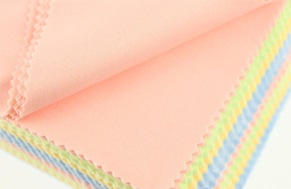 Itemer Colourful panni in microfibra adatto per pulizia occhiali fotocamere computer tablet schermi LCD e altre superfici delicate