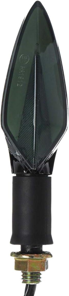 REFURBISHHOUSE 4 Pi/èces Moto N/éon LED Clignotant Voyant Lampe LED Clignotants Drl Feu de Frein Universel pour Gsxr Gsx-R 600 750 1000 K1 K2 K3 K4 K5 K6 K7 K8 K9