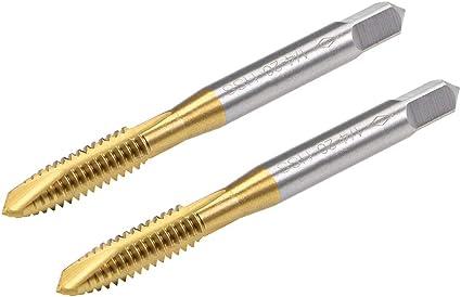 1//4-20 H5 2 Flute Spiral Point Plug Standard Tap HSSE-V3 TiN Coated