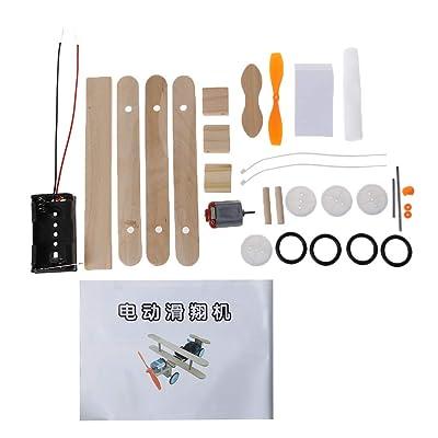 Ogquaton Kits de avión Modelo de Bricolaje de Ciencia Experimental de Juguete eléctrico para niños, niños, duraderos y útiles: Hogar