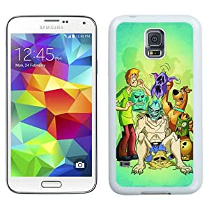Hot Sale And Popular Samsung Galaxy S5 I9500 Case Designed With Scooby Doo 2 White Samsung Galaxy S5 Phone Case