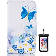 Huawei P30 PRO Flip Case, Cover for Huawei P30 PRO Leather Cell Phone Cover Extra-Durable Business Kickstand Card Holders with Free Waterproof-Bag