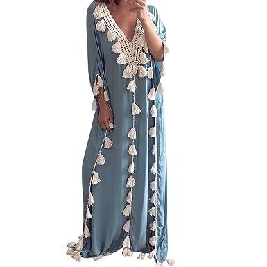 Rooper Vestido Fiesta Mujer Largo, Vestido De Bohemia Estilo ...