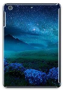 3D PC Case Cover for ipad mini retina Custom Hard Shell Skin for ipad mini retina With Nature Image- Little Starry Sky