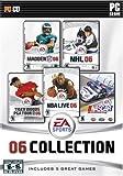 EA Sports 06 Collection (Madden 06, NASCAR Sim Racing, NBA Live 06, NHL 06, Tiger 06) - PC