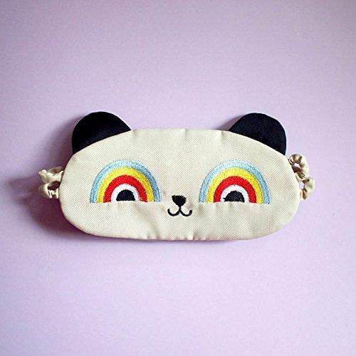 Rainbow Eyes Panda Bear Sleep Eye -