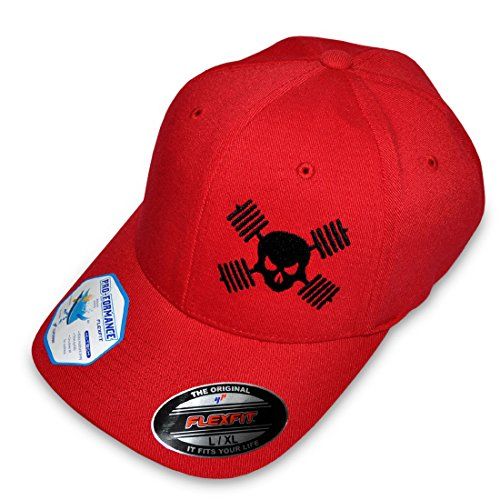 Hat Sizing Chart (Ironville Skull and Barbells Hat for Bodybuilding, Powerlifting, Weightlfting (L/XL (7 1/8