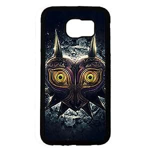 Majora's Mask Series Phone Case Black Hard Plastic Case Cover For Samsung Galaxy S6 Legend of Zelda Series