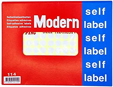 Kwang Ping Self label,Size 13 O mm, Pack of 10 sheet contains 154 labels