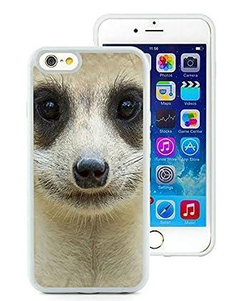ef3650ebc70 Diseño de Custom con delicados suricato Blanco iPhone 6 Funda 4.7 pulgadas  TPU: Amazon.es: Electrónica