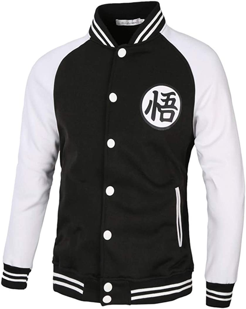 Couples Attack on Titan Long Sleeve Hoodies Sweater Jacket Coats Cosplay Button Jacket Halloween Baseball Uniform