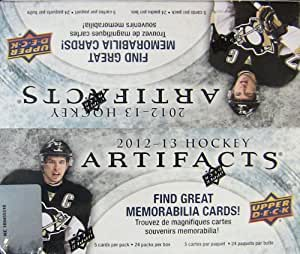 2012-13 Upper Deck ARTIFACTS HOCKEY Cards Retail Sealed Box (24 packs)