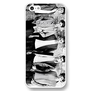 UniqueBox Customized White Hard Plastic iPhone 5c Case, One Direction(1D) iPhone 5C case