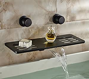 Rozin Multifunction Waterfall Shelf Spout Bathtub Faucet