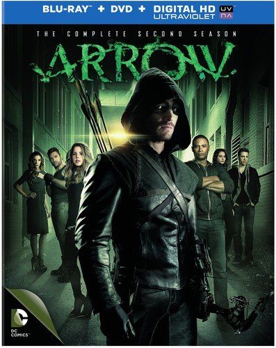 Blu-ray : Arrow: The Complete Second Season (With DVD, Boxed Set, Ultraviolet Digital Copy, Slipsleeve Packaging, 9PC)