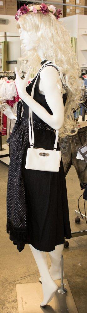 14f7bd645c9db Trachtenland - Trachten Umhängetasche Sofia - Kleine Handtasche Abendtasche  mit Metallapplikation zu Dirndl und Lederhose größeres Bild