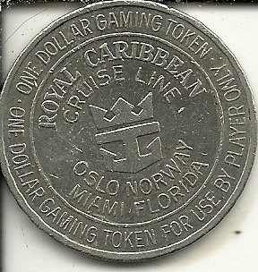 1-royal-caribbean-cruise-line-casino-token-coin-obsolete-vessel