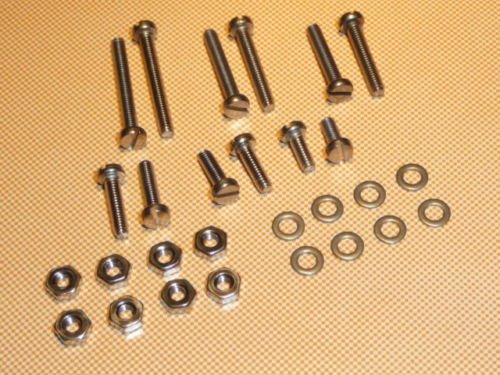 YourStoreFront FASTENER SCREWS 28 Piece Set for TURNTABLE HEADSHELL CARTRIDGE