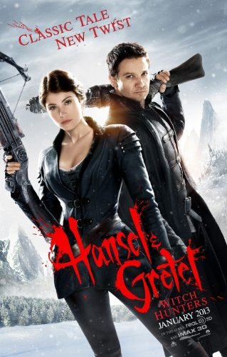 Hansel & Gretel Witch Hunters Original Theatrical Movie Poster