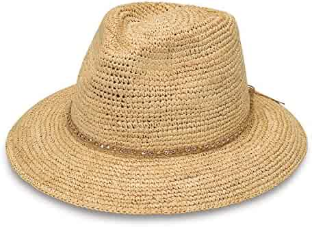 ee2127e7df6 Wallaroo Hat Company Women s W Collection Malibu Sun Hat - Raffia