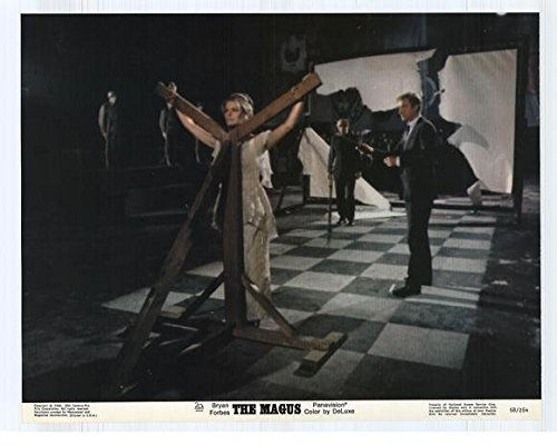 The Magus Notice Movie (1968) Style F 11 x 14 Inches - 28cm x 36cm (Michael Caine)(Anthony Quinn)(Candice Bergen)(Anna Karina)(Paul Stassino)(Julian Glover)