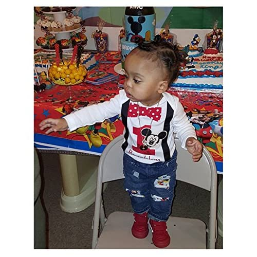 Perfect Pairz 2nd Birthday Shirt Boys Mickey Mouse Tee Personalized