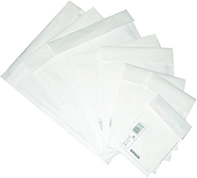 Weiss 250 x 350mm 100 Luftpolstertaschen Versandtaschen Luftpolsterumschl/äge G7