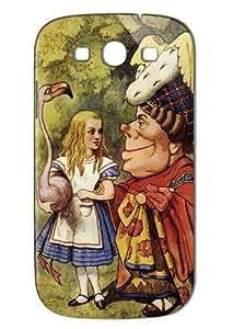Case Fun Samsung Galaxy S3 (I9300) Case - Vogue Version - 3D Full Wrap - Alice in Wonderland The Duchess