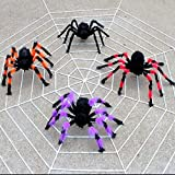 quysvnvqt Realistic Spider Halloween Party