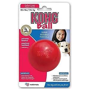 Pet Supplies : Pet Chew Toys : KONG Ball Dog Toy, Medium