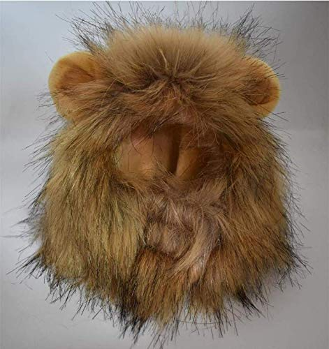 RosyLife Lion Mane Wig for Dog and Cat Costume