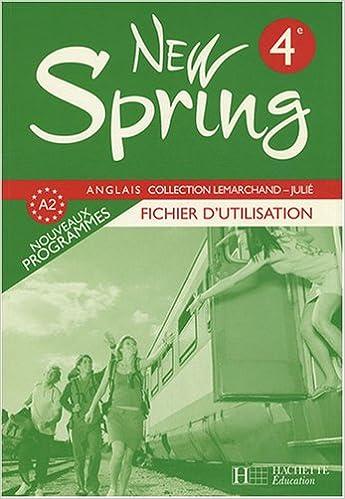 Anglais 4e New Spring : Fichier d'utilisation pdf