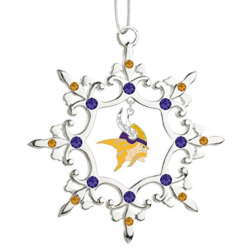 (Final Touch Gifts Minnesota Vikings Rhinestone Christmas)