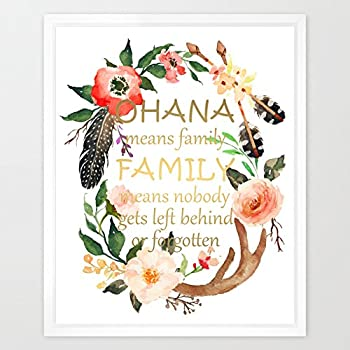 Amazon Com Ohana Means Family Inspired By Lilo And