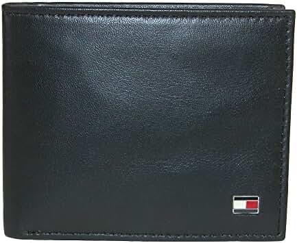 Tommy Hilfiger Men's Leather Slim Billfold Wallet