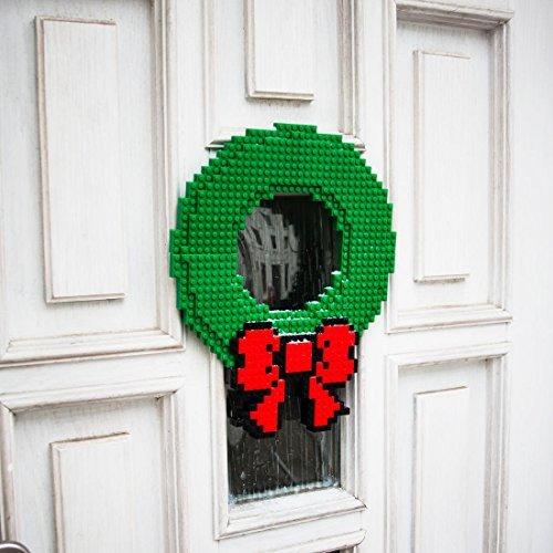 Thinkgeek Build on Brick Holiday Wreath