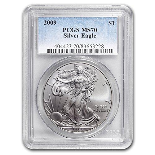 2009 Silver American Eagle MS-70 PCGS Silver MS-70 PCGS